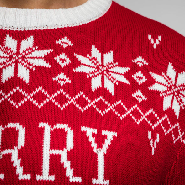Hommes rouge Filthy Animal Pull de Noël Christmas Sweater Mens SillySanta