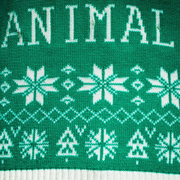 Hommes vert Filthy Animal Pull de Noël Christmas Sweater Mens SillySanta