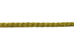 Metallic Gold Braided Cord