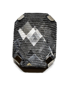 "1 1/2"" x 1"" Mesh Gemstone Pieces"