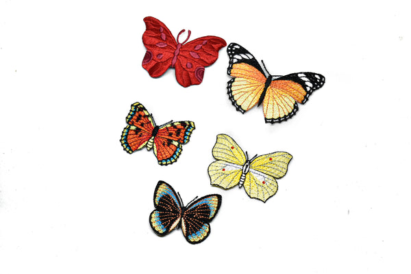 "3"" x 2"" Monarch Butterfly Applique (5 Designs)"