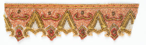 Hand Beaded Sew-on Indian Trim - Target Trim