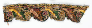 Floral Beaded Handcrafted Indian Trim WITHOUT Fur - Target Trim