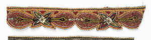 Artsy Handcrafted Floral Trim with with Sequins and Beads - Target Trim