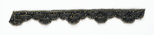 Black Beaded Handcrafted Indian Trim