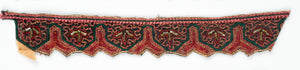 Y-Shaped Handcrafted Indian Floral Trim