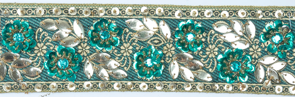 Decorative Handcrafted Beaded India Trim