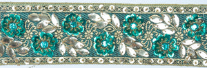 Decorative Handcrafted Beaded India Trim - Target Trim