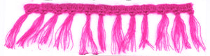 Mohair Fringe Trim- Design 2 (2 Colors Available) - Target Trim