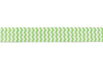 "Chevron Print Fold-Over Elastic 5/8"" - 1 Yard"
