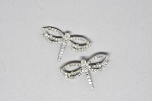 Dragonfly Crystal Rhinestone Brooch Pin - Target Trim