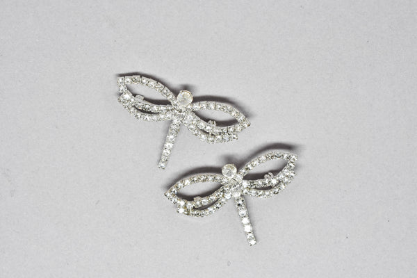 Dragonfly Crystal Rhinestone Brooch Pin