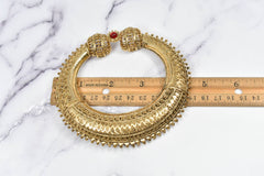 Royalty Gold Buckle Applique 4 1/2