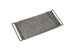 "Metal Mesh Fabric Clasp Connector 4.5"" x 2"" - 1 Piece"