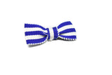 "Mini Striped Bow 1.50"" x .75"" - 1 Piece"