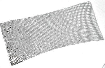 "Metal Mesh Fabric 11"" x 5""  - 1 Piece"
