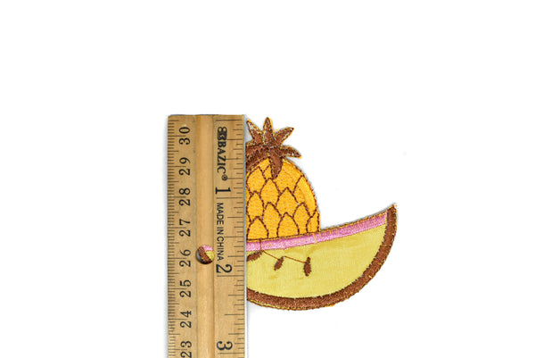 Assorted Fruits Iron-on Patches and Appliques with various sizes