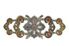Vintage Flower Buckle/Connector 9 7/8
