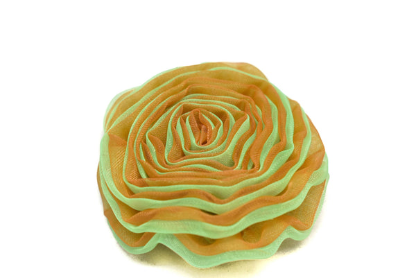 Organza Two-Tone Rose Piece