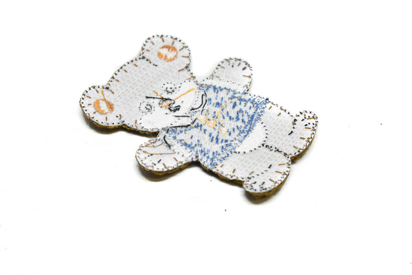 Furry Animal Iron-on Patch Applique- Student Fashion Applique