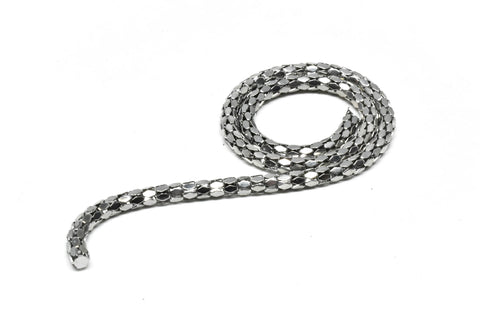 "1/10"" (2.5mm) Polygon Link Design Chain (Metal)"