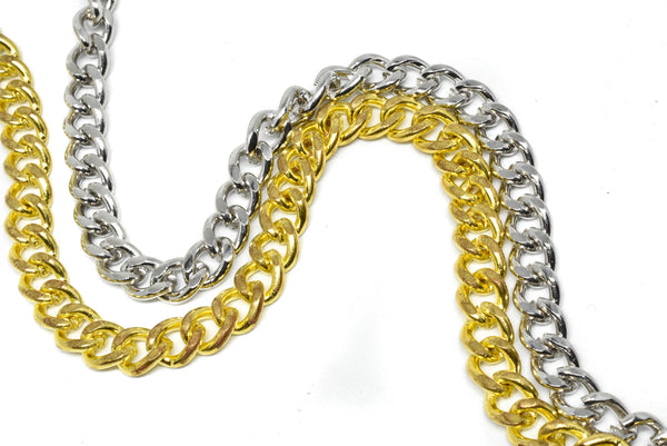 "1/5"" (5 mm) Regular Cut Metal Chain (4 Colors Available)"