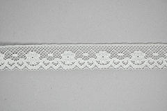 Fancy White Lace Trim 1