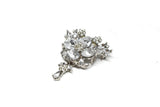 Crystal Rhinestone Unique-Shaped Brooch