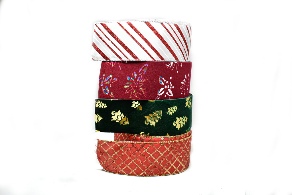Christmas Wrapping Ribbons