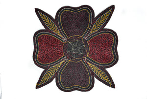 Embroidered Flower Piece (11 Colors Available!) - Target Trim