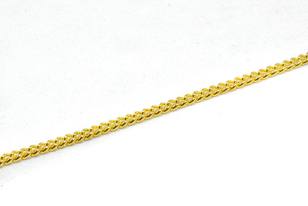 "1/10"" (2.5 mm) Gold Chain (Aluminum)"