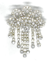 Crown Rhinestone Brooch pin
