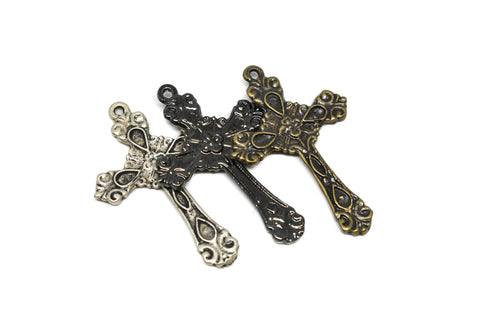 Small Floral Crosses