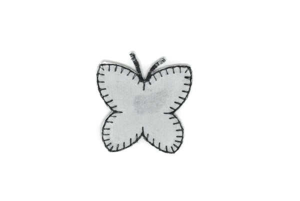 "Hologram Butterfly Iron-On Patch 2.75"" - 1 Piece"