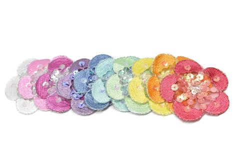 Sequins Flower Piece (10 Colors Available!)