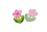 "Sequins Flower Applique 1.5"" x 2"" - 1 Piece"