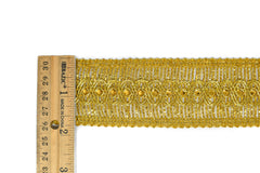 Metallic Gold or Metallic Silver Sequins Trim (1 3/4