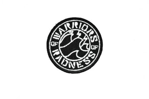 "2"" Warriors of Radness Embroidered Iron-On Patch"