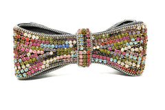 Multi-Color Rhinestone Bow 4