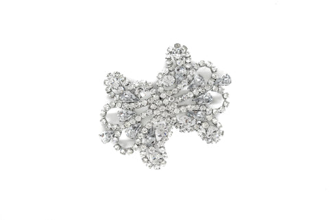 Garland Silver Rhinestone Connector - Closure