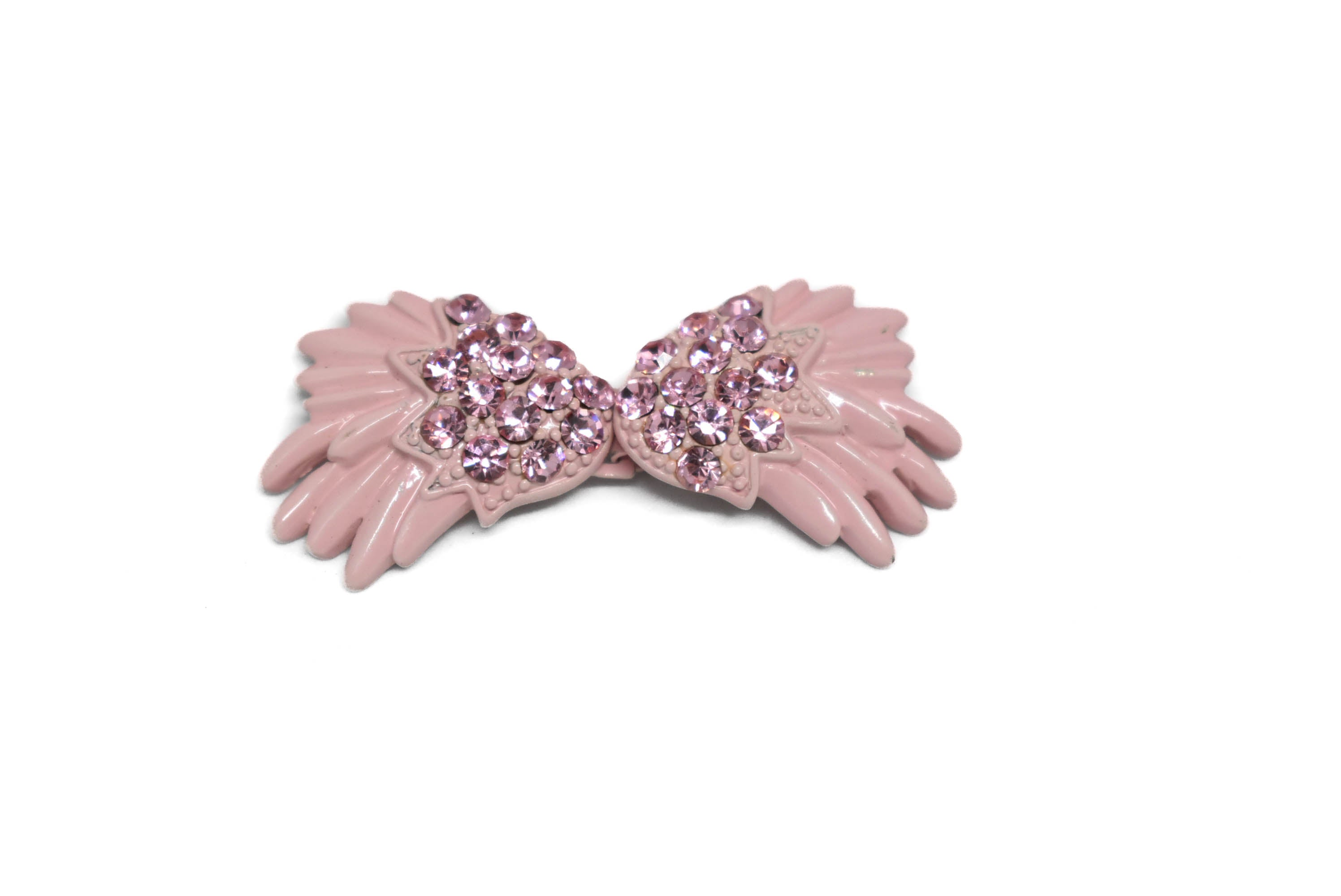 Fancy Bow Rhinestone Connector - Closure