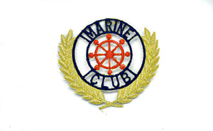 Marine Club Iron-on Patch