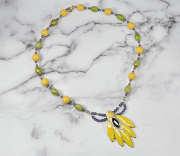 Beautiful Unique Beaded Necklace