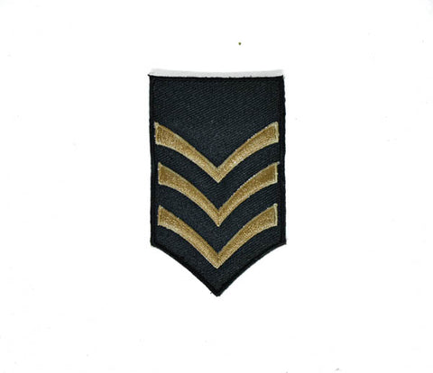 "2"" x 3"" Iron-on Sergeant Army Embroidery Patch Applique"
