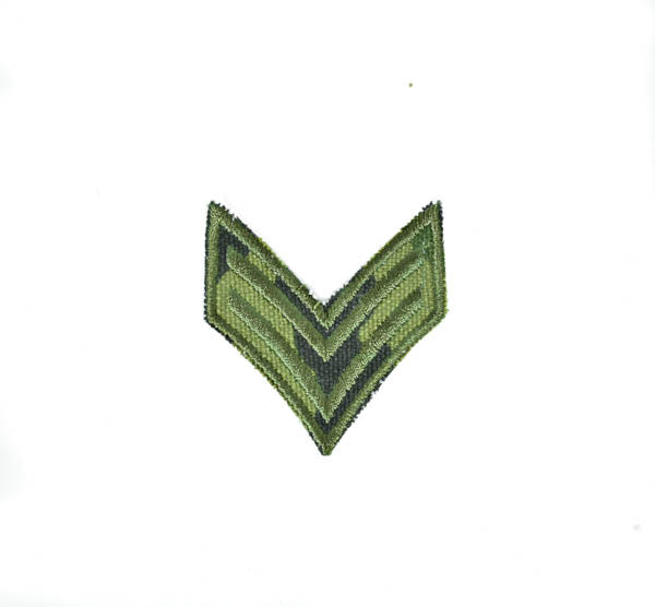 "Military Iron-on Embroidery Patch - 2""x 2"" - 1 Piece"