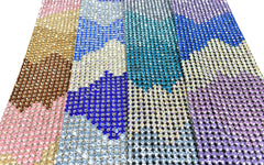 Tri-Color Rhinestone Applique 16