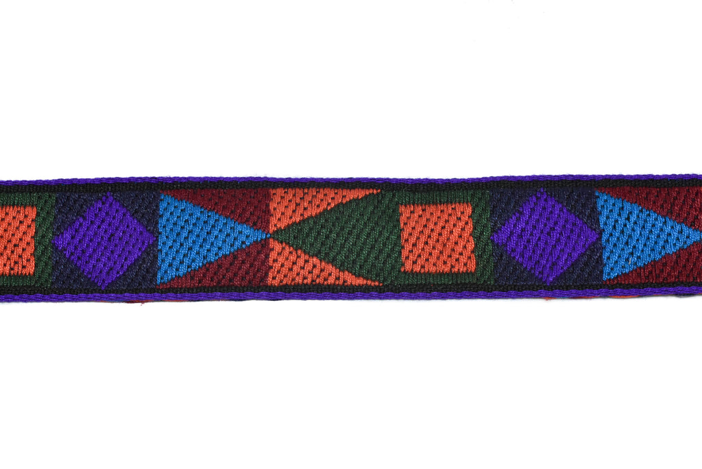 "Native Print Cotton Webbing 1¼"" - 1 Yard"