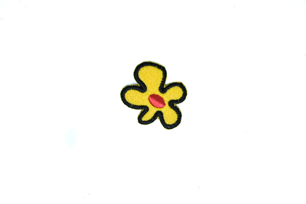 "Tiny Iron-On Flower Patches 1 1/2"" x 1 1/2"" - 1 Piece"