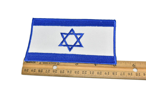 Israel Flag Iron-On Patch