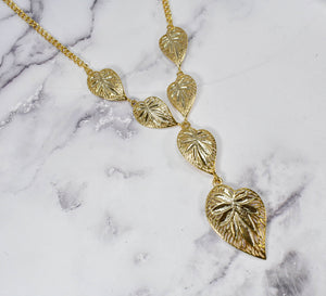 Gold Leaf Necklace